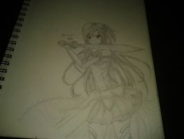 Asuna  from sword art online :) by Xezn