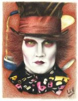 The Mad Hatter - Johnny Depp by carla-ng