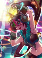 95 KeyWord Commish: Rocco + Rave by Mako-Fufu