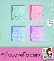 4 AcuaveFolders Cute' by Tutoriales-Sochy