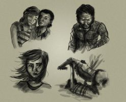 Last of Us doodles by Gashu-Monsata