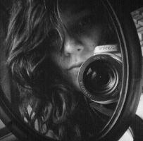 my face in the mirror by mimi75mimi75