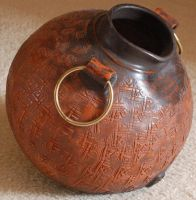 Clay Water Pitcher by SalsolaStock