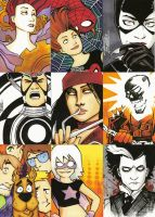Sketch Cards Strike Back by KidNotorious