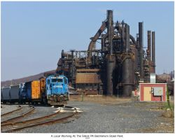 The Silent PA Bethlehem Steel by Pavloff-Photos