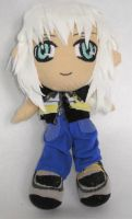 Kingdom Hearts II - Riku plush by ichigo-pan43