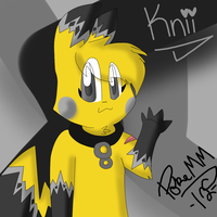Knii The Glowchu by PokeMasterMewzie