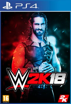 Custom WWE2K18 Cover by Ara-Designs