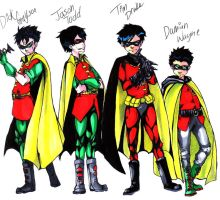The Robins by Yoshiie
