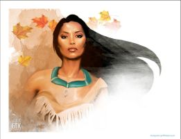Pocahontas by soonergriff