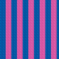 Glorious Blue and Pink Stripes by Sharmelle