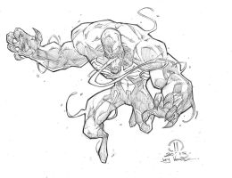 Venom pencils by JoeyVazquez