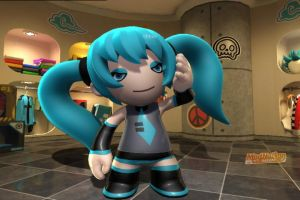 ModNation Racers: Miku Hatsune by ANGELxBIRD