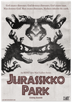 Jurassicko Park Poster by LDN-RDNT