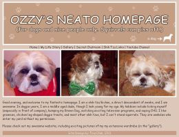 Ozzy's Homepage by Kittensoft