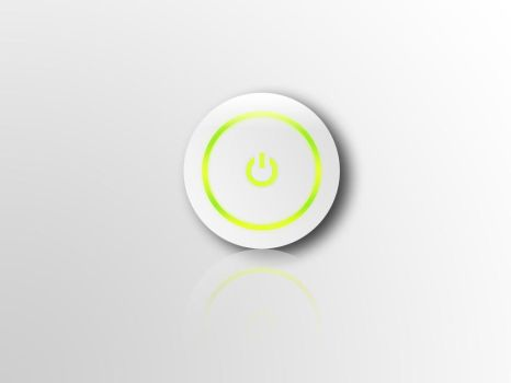 XBOX 36O ON-BUTTON Wallpaper by MDJ