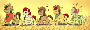 Apple Family Roots by Tomato-AL