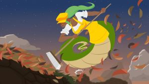 Dustforce Lamia by FicusArt