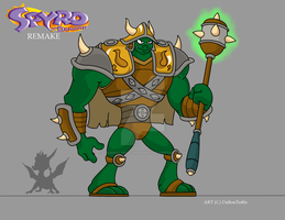 Gnasty Gnorc: REMAKE (Revised) by OriginalSpyroRemaker