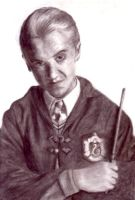 malfoy by blastedgoose