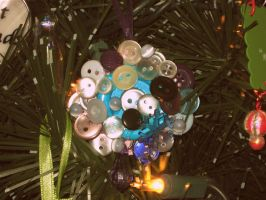 All Buttoned Up Ornament by shesgonepostal