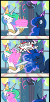 Cumple de La Princesa Luna by frank1605