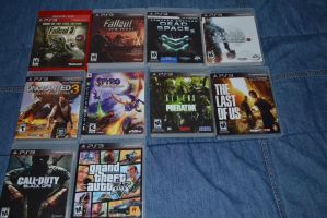 My Favorite Ps3 Games by Jaws1996