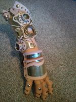 Custom Steampunkified Gauntlet Update by Skinz-N-Hydez