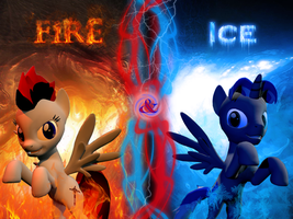 Fire and Ice by Kokyal0rd