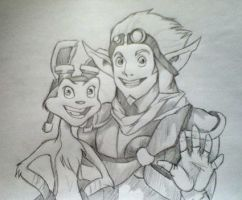 Jak and Daxter by gamesgirl44