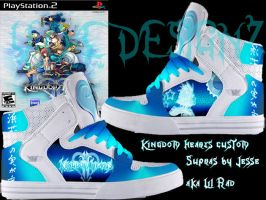 Custom Kingdom hearts 2 supras by LilRad