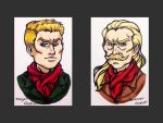 Young and Old Ocelot by ReaperClamp