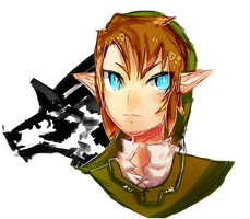 Link Sketch by katcatlinkattack