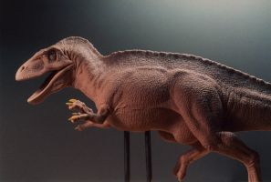 Acrocanthosaurus Close-Up by DaVinci41