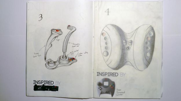 Controller Initial Ideas 3-4 by Cyfer180