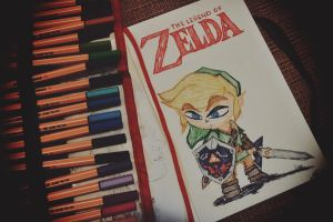 Scrawled Link :) by manupaivaellon