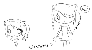 Demon-Fire-Fox's Drawing Contest Entry-Naomi by mimihgfh