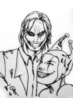 Joker and Harley Nowlen style by OngJ