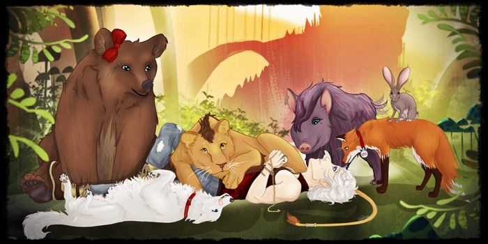 Peyton's Pack by Amythest621