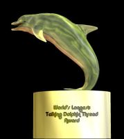 Talking Dolphin Award by viridislament