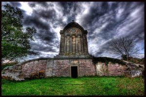 Monteath Mausoleum HDR by GaryTaffinder