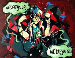We'll Eat You Up by Zakeno