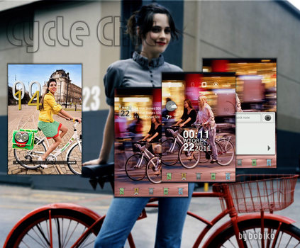 Android Cycle Chic by bobiko