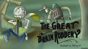 RS Quest Titlecard Series- The Great Brain Robbery by prezleek