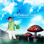 My Mushroom World by asmaa-rabiaa