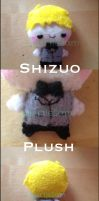 Shizuo Plush by SquirtleSam