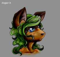 Sugar Face by sugar-cat-candy