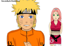 NaruSaku adult design png. by NarutoByAri
