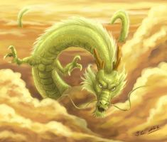 Chinese dragon by J-C