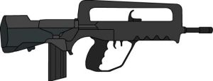 FAMAS by Griffinite